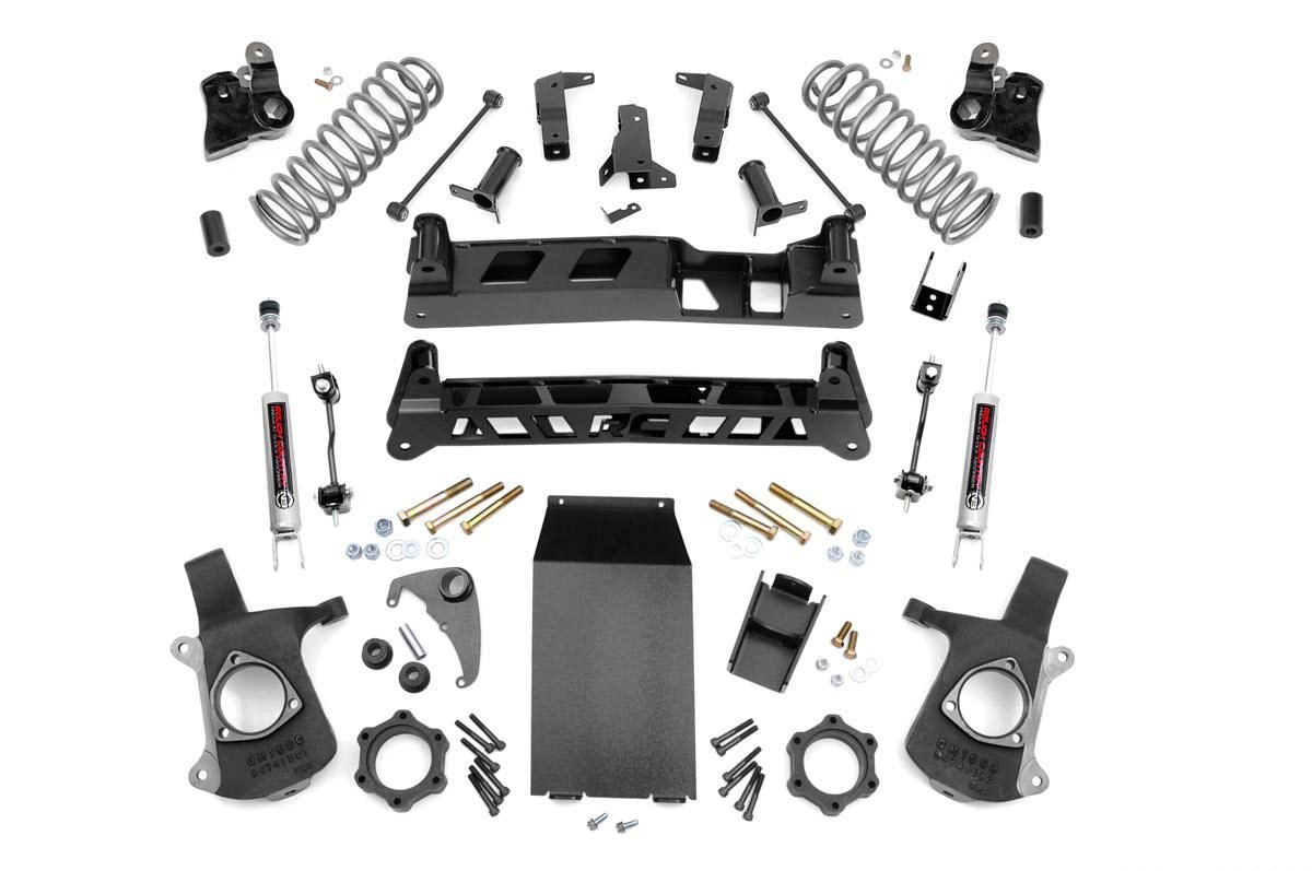 2in Leveling Lift Kit For 00 06 Chevy 4wd 2wd Tahoesuburban Electronics 718113 Reverse Wiring Harness Select 20002006 Toyota 6in Gm Ntd Suspension