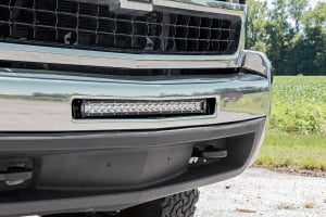 Chevy 20-inch Single Row LED Bumper Mount [70523]