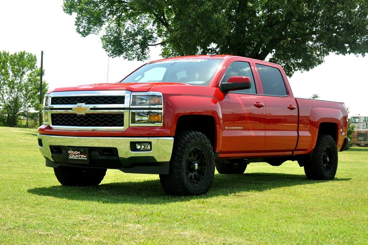 6 Inch Lift Kit For Chevy Silverado 1500 >> 2in Leveling Lift Kit for 2007-2019 Chevrolet / GMC 1500 ...