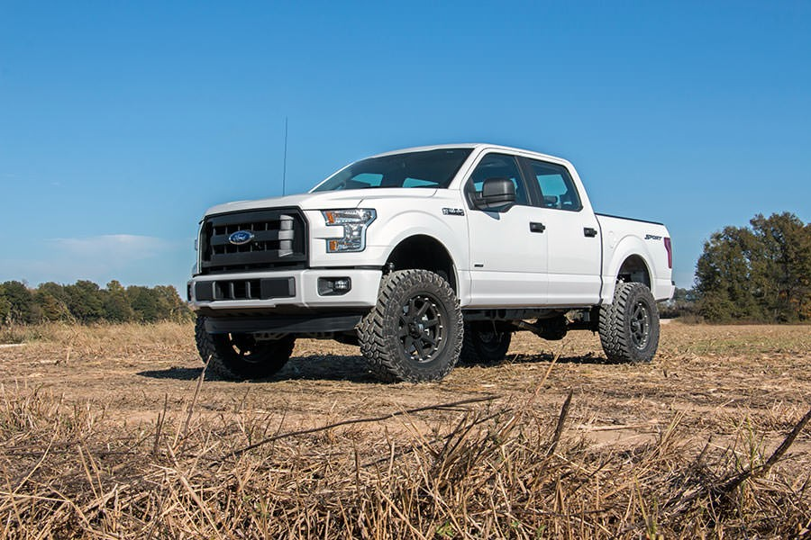 6 inch suspension lift kit for 2015 2018 2wd ford f 150 pickups 6in ford suspension lift kit 15 18 f 150 2wd publicscrutiny Image collections