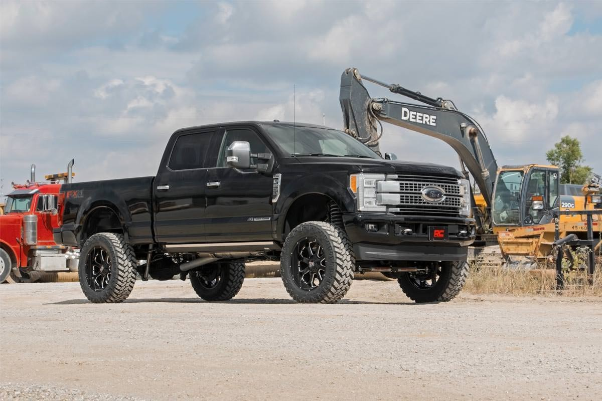 6in Suspension Lift Kit for 2017-2019 Ford 4wd F-250, F-350 Super Duty Pickups | Diesel | Rough ...