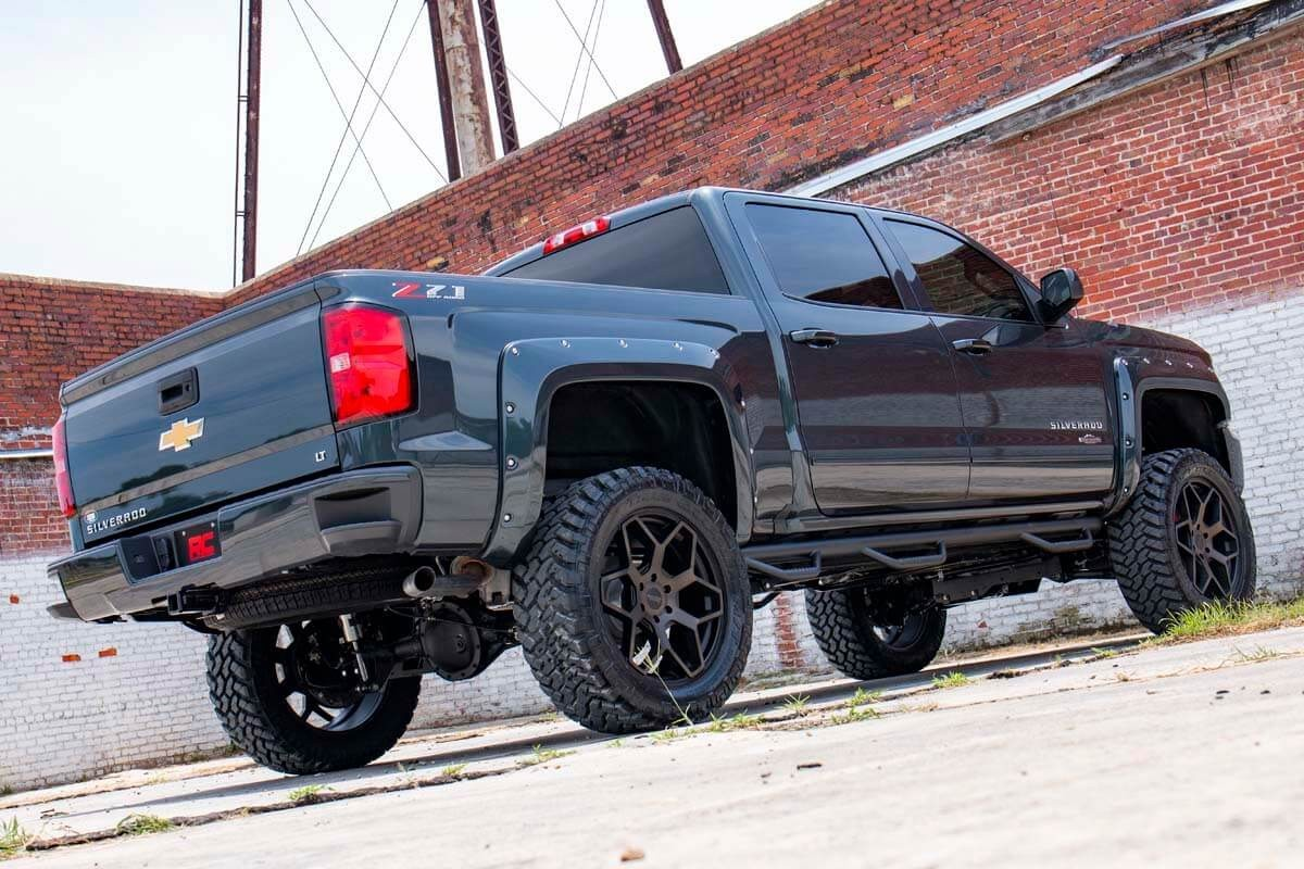 6 Inch Lift Kit For Chevy Silverado 1500 >> 7.5-inch Suspension Lift Kit for 2007-2013 4WD Chevrolet ...