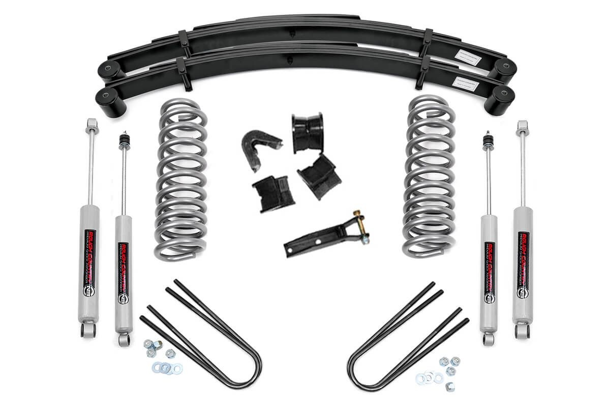 Ford 4in Suspension Lift Kit [500-70-76.20]