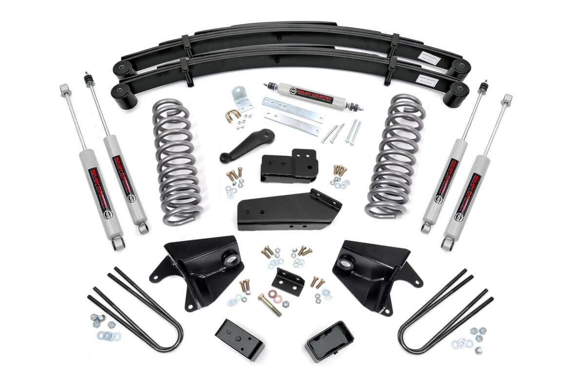 6in Suspension Lift System for 80-96 Ford 4wd F-150 Pickup / Bronco [525.20]
