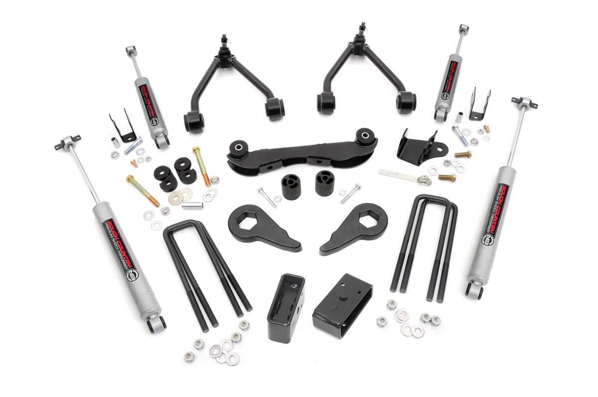 2 3in Suspension Lift Kit For 88 98 Chevy Gmc 4wd 1500 Pickup Suv Chevytruckforum 13857needwiringdiagramfor76chevytruckhtml Rough Country Systems
