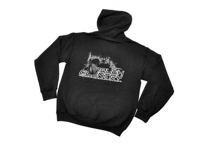 0db3a99de440 Rough Country Black Hoodie w  Jeep Back Design