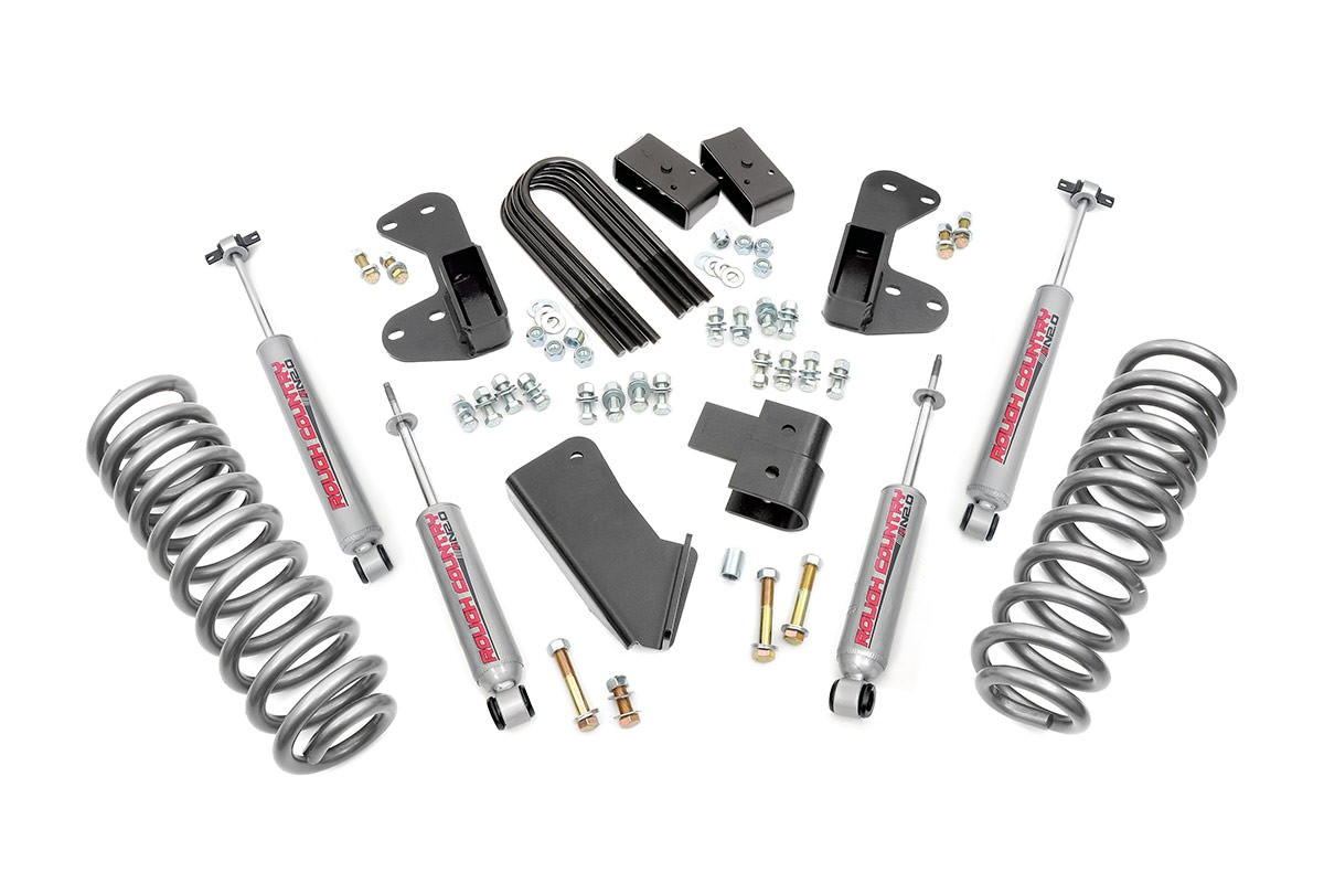 25in Suspension Lift Kit W N20 Shocks For 80 96 Ford 4wd Bronco 1980 Dash 42520