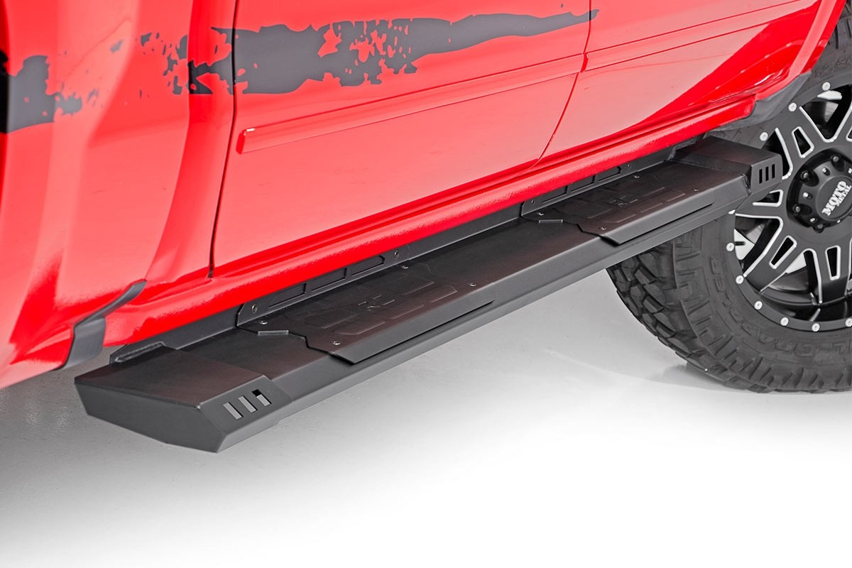 Rough Country Cab Length HD2 Running Boards for 2007-2018 ...