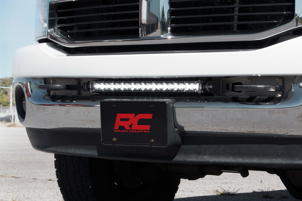 Exceptional Dodge 20 Inch LED Hidden Bumper Mounts [70568]