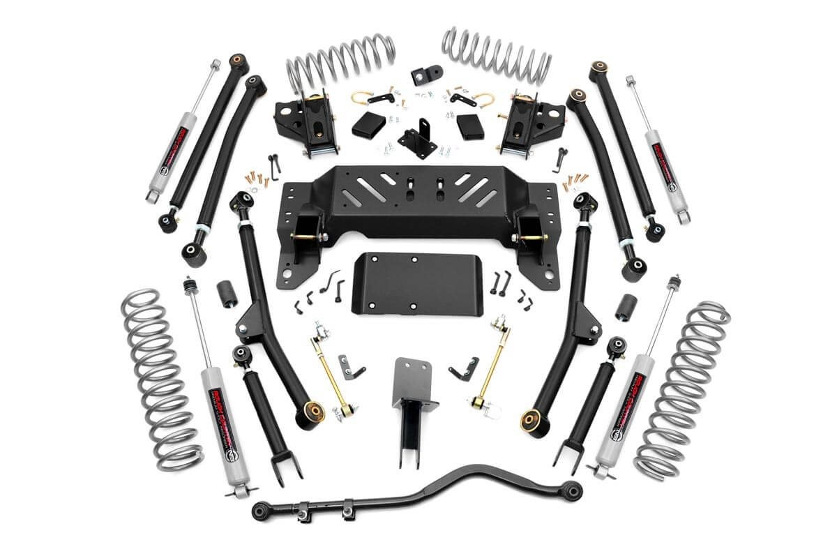 Jeep ZJ 4in Long Arm Suspension Lift Kit [90222]