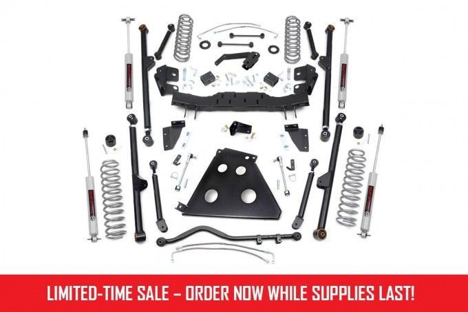 Jeep JK 4in Long Arm Suspension Lift Kit [78222]