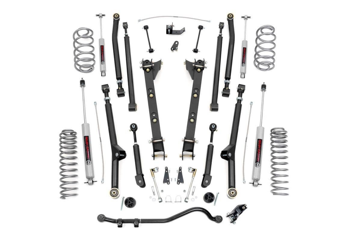 97-06 Jeep TJ 2.5in Long Arm Suspension Lift Kit