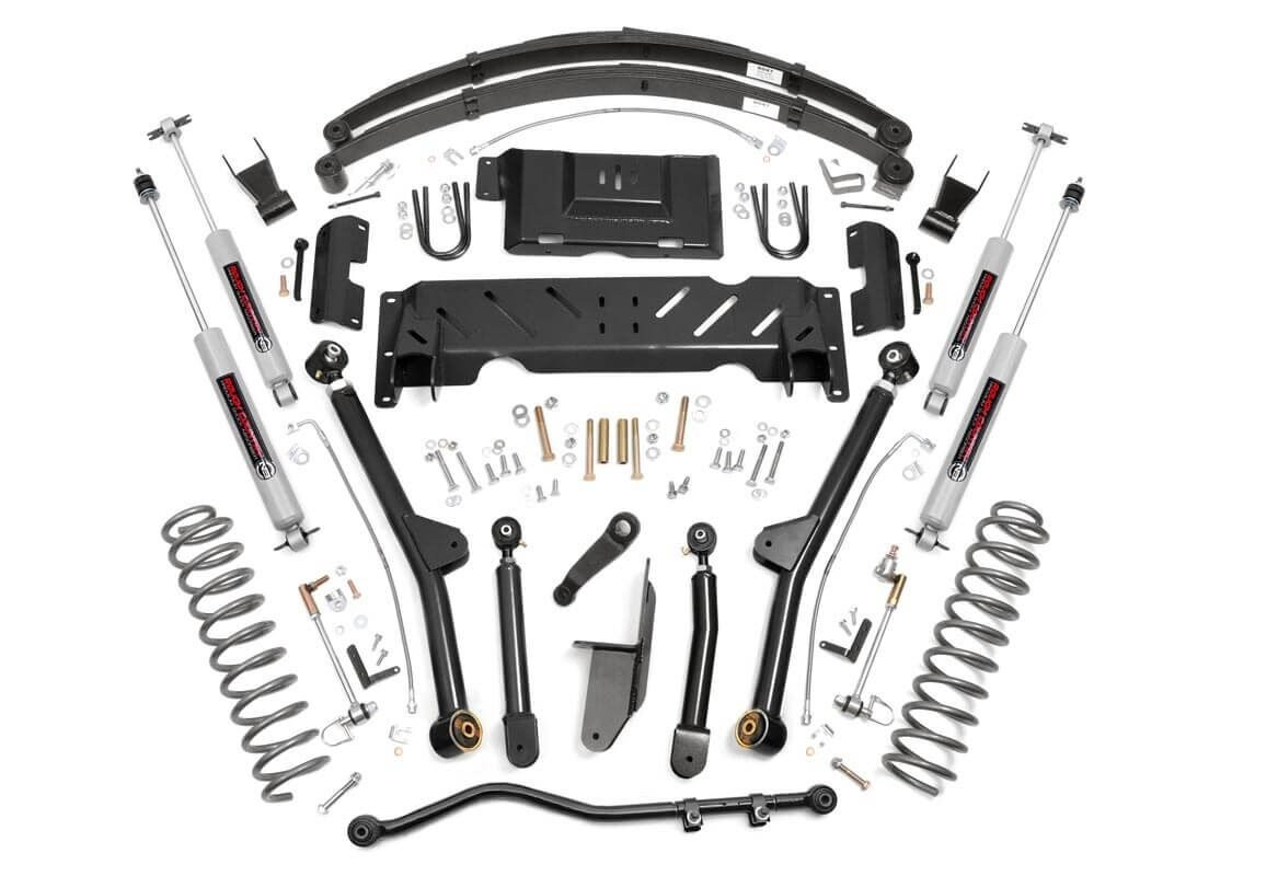 Jeep XJ 6.5in Long Arm Suspension Lift Kit