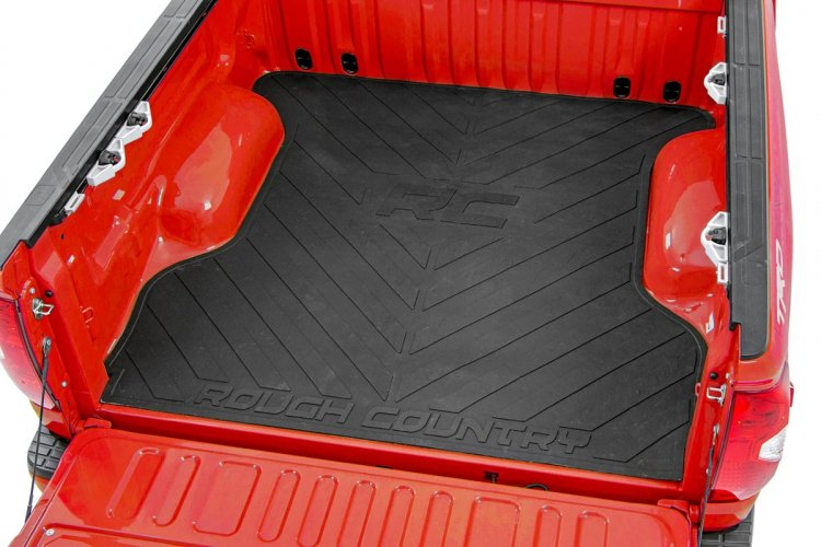 Dodge Bed Mat W Rc Logos 2019 Ram 1500 Rough Country