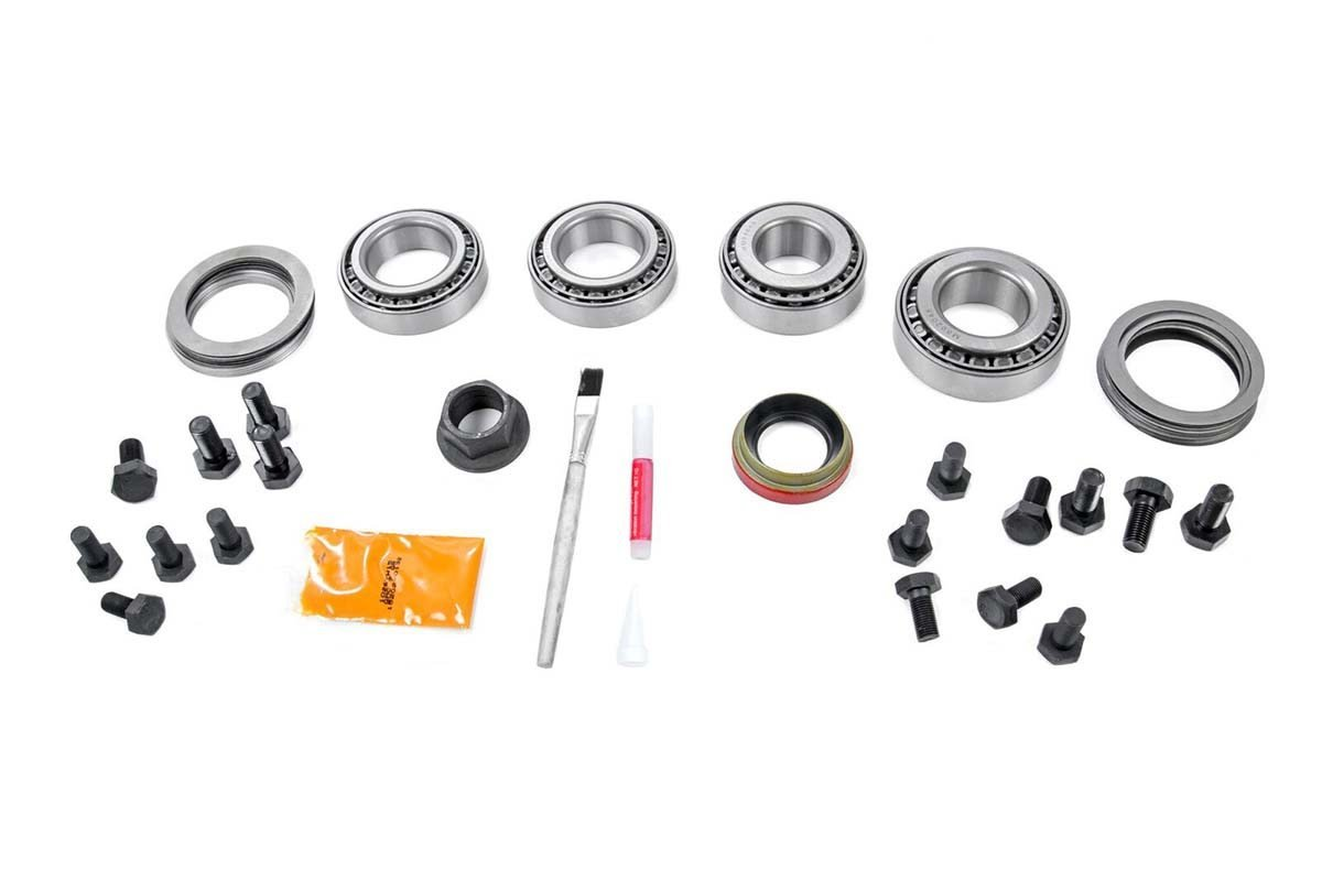 Rough Country Dana 30 High Pinion 456 Ratio Ring And Gear Diagram Of The Jeep Tj Front Steering Suspension Components 35 Master Install Kit Yj Rear Axle