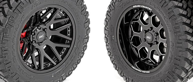 Rough Country S95/S96 Wheels