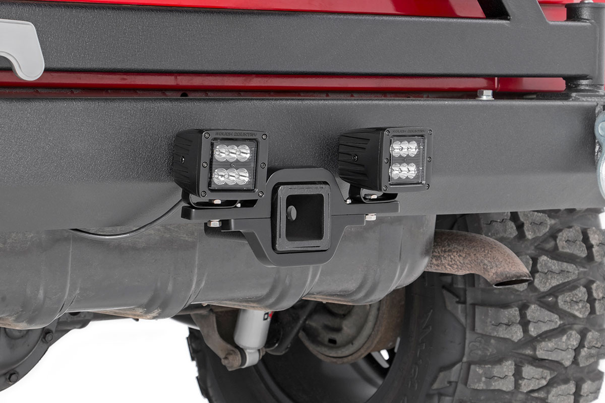 2002-2009 Chevy Trailblazer//GMC Envoy Rough Country 289 Leveling KIt Black 2 | fits Performance Suspension System